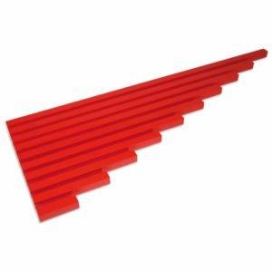 The Red Rods-produs original Nienhuis Montessori-prin Didactopia by Evertoys