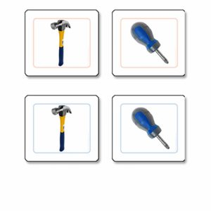 Tools Matching Cards-produs original Nienhuis Montessori-prin Didactopia by Evertoys