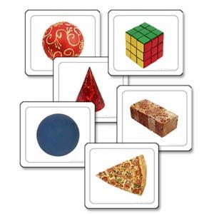 Visual Discrimination - Shapes-produs original Nienhuis Montessori-prin Didactopia by Evertoys