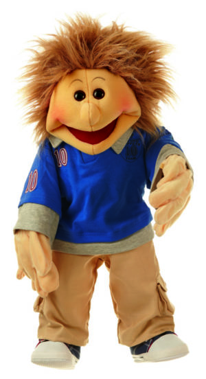 Erik - 65 cm - Papusa Marioneta - original Living Puppets