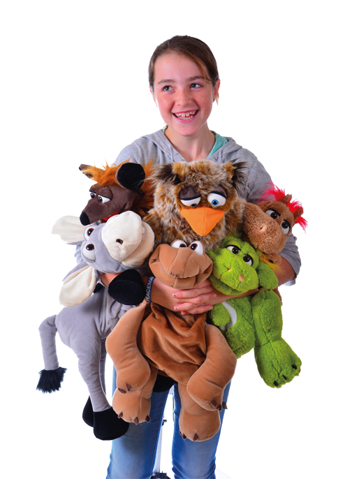 Living Puppets marioneta full seria Animale haioase