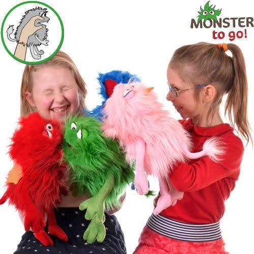 Marionete de mana manevrabile de copii - Original Living Puppets prin Didactopia by Evertoys