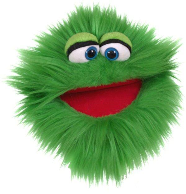 Monstrul vorbaret Zbrrrrlici - 20 cm - Papusa Marioneta de mana - original Living Puppets