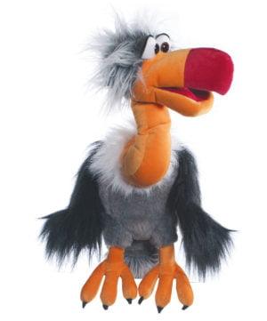 Vulturul Django - 50 cm - Papusa Marioneta - original Living Puppets