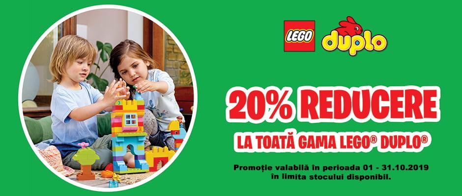 Reducere la toate seturile LEGO DUPLO