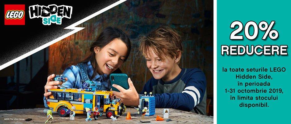 Reducere la toate seturile LEGO Hidden Side