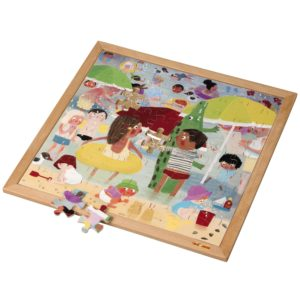 Extreme heat l Wooden puzzle l 81 puzzle pieces l Educo-produs original Educo / Jegro -prin Didactopia by Evertoys