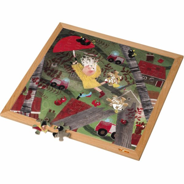 Extreme wind l Wooden puzzle l 81 puzzle pieces l Educo-produs original Educo / Jegro -prin Didactopia by Evertoys
