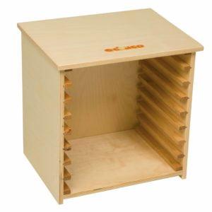 Puzzle case 24 (empty)-produs original Educo / Jegro -prin Didactopia by Evertoys