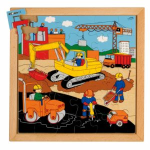 Street action puzzle - road building-produs original Educo / Jegro -prin Didactopia by Evertoys