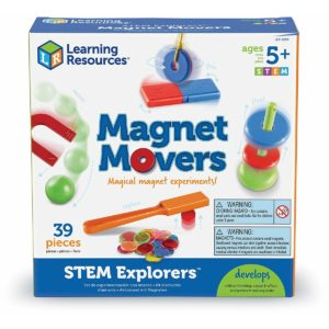 Magnet movers - set experimente magnetism - Jucarie STEM copii - Learning Resources UK