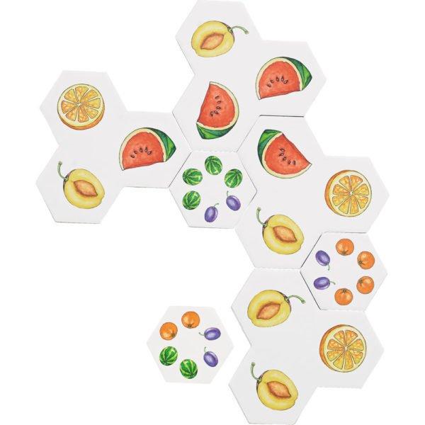 Aranjeaza fructele - Joc de logica - Haba Education