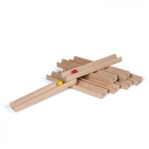 Circuit bile echipe - Team Balltrack - joc echilibru Team Building lemn - Erzi Germania 2