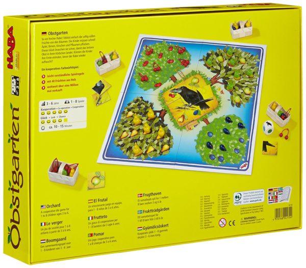 Corbul si livada - Obstgarten - joc cognitiv copii - Haba Germania