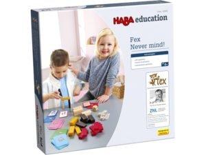 Fex - Nu te lasa - Joc de concentrare si constructie - Haba Education