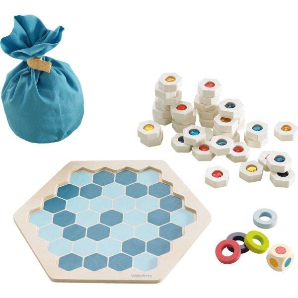 Gheata sclipitoare - joc educativ pentru copii de perceptie si strategie