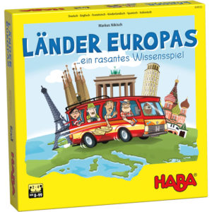 Tarile Europei - joc educativ copii - Geografie - Haba Germania
