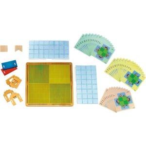 Topo Logic - Joc educativ de pozitionare spatiala - Haba Education 3