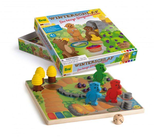 Ursuletii de pregatesc de hibernare - joc gandire strategica pentru copii - Erzi Germania