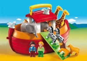 1.2.3 Arca Lui Noe Portabila-Playmobil-1.2.3-PM6765