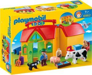 1.2.3 Set Mobil Ferma-Playmobil-1.2.3-PM6962