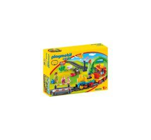 1.2.3 TREN CU STATIE-Playmobil-1.2.3-PM70179