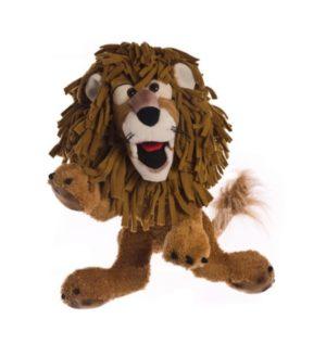 Carlos - Leul un pic ciufulit - 45 cm - Papusa Marioneta - original Living Puppets