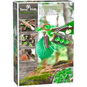 Terra Kids Connectors - Animale - Set bricolaj outdoor copii - Haba Terra Kids
