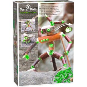 Terra Kids Connectors - Creaturi - Set bricolaj outdoor copii - Haba Terra Kids