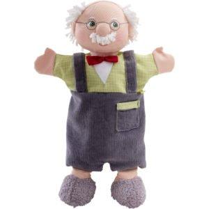 Bunicul- Păpuşă de mână pentru teatrul de păpuşi