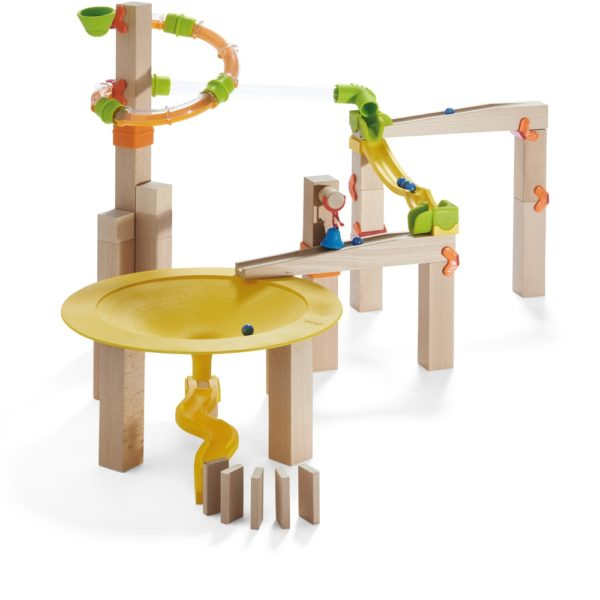 Circuit Labirint bile lemn - Funnel Jungle - Set efecte - Haba Germania