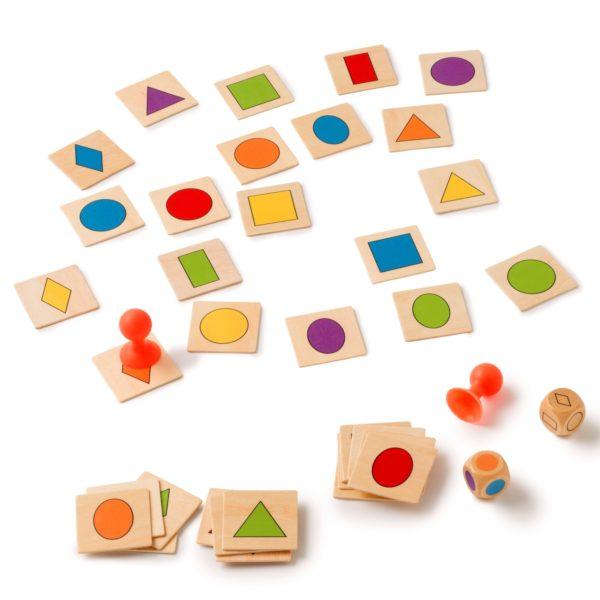 Inhata forma - Joc de asociere forme si culori - Toys for Life prin Didactopia 4