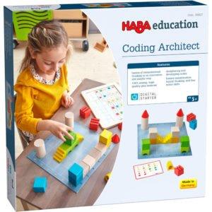Digital Starter - Coding Architect - Primii paşi în programare - Joc educativ STEM - HABA Education prin Didactopia