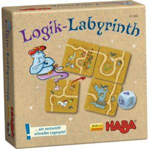 Labirintul logic - Logik Labyrinth - Joc de strategie pentru copii - HABA - prin Didactopia