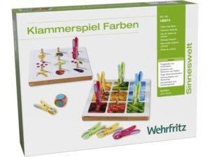 Cleștii colorați - Joc educativ de asociere imagini/culori şi dexteritate - HABA Education prin Didactopia