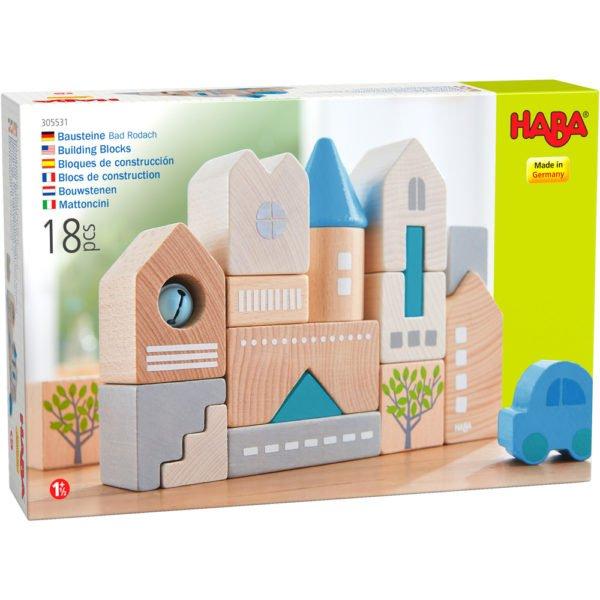 Blocuri de construcție. Bad Rodach - Bausteine Bad Rodach - Joc de construcție si stivuire. HABA in Didactopia 03