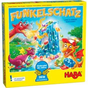 Comoara dragonilor - Funkelschatz - Joc de îndemânare copii. HABA prin Didactopia