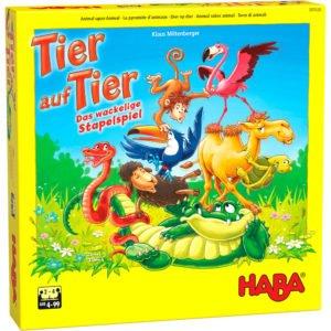Piramida animalelor - Tier auf Tier - Joc dexteritate și echilibru. HABA in Didactopia 05