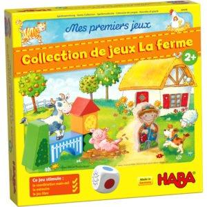 Prima mea colecție de jocuri. La fermă - Collection de jeux La ferme - Joc de memorie si cooperare. HABA in Didactopia