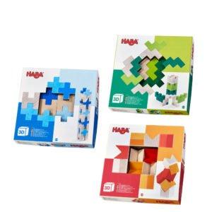 Set de constructie 3D - Joc de indemanare si dexteritate. HABA prin Didactopia