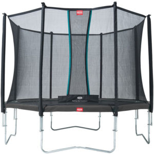 Trambulina exterior - BERG Favorit - 430 cm - suprateran - gri - plasa comfort - BERG Olanda Solo spring