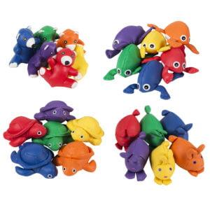 Animale tactile - Săculeţi tip Bean Bag în formă de animale 4