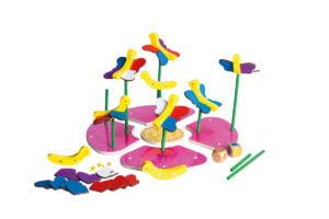 Aripi colorate - Joc de potrivire culori - Joc magnetic 4