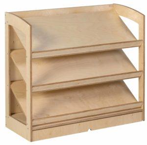 Book Shelf: Rear Panel (93 cm)-produs original Nienhuis Montessori-prin Didactopia by Evertoys