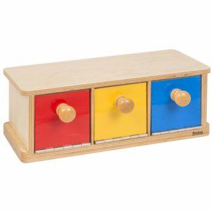 Box With Bins-produs original Nienhuis Montessori-prin Didactopia by Evertoys