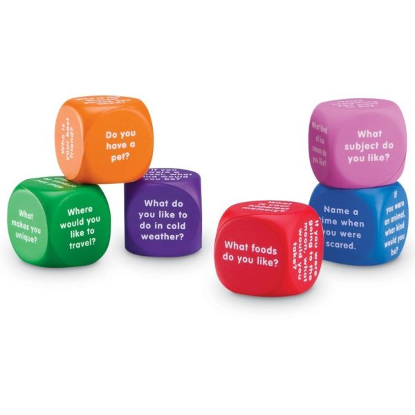 Cuburi pentru conversații - Limbaj și comunicare - Learning Resources 1