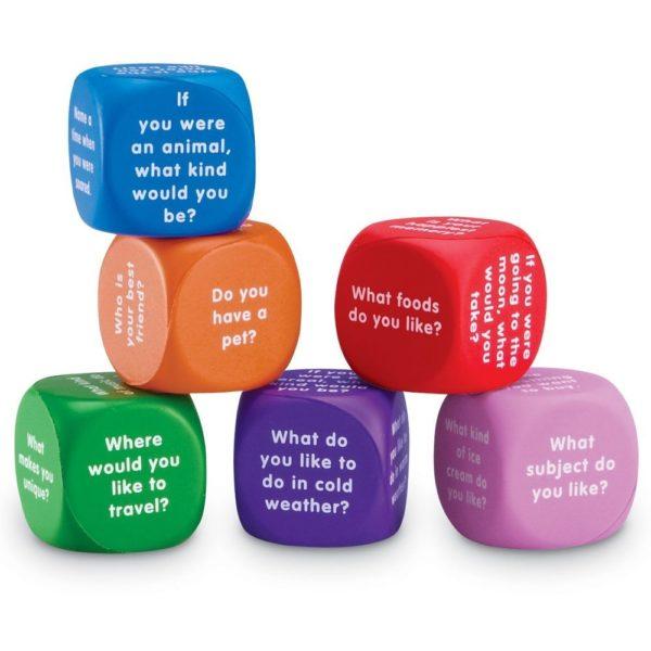 Cuburi pentru conversații - Limbaj și comunicare - Learning Resources 2