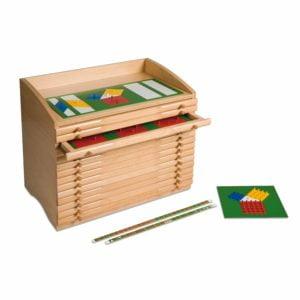 Fraction Cabinet-produs original Nienhuis Montessori-prin Didactopia by Evertoys
