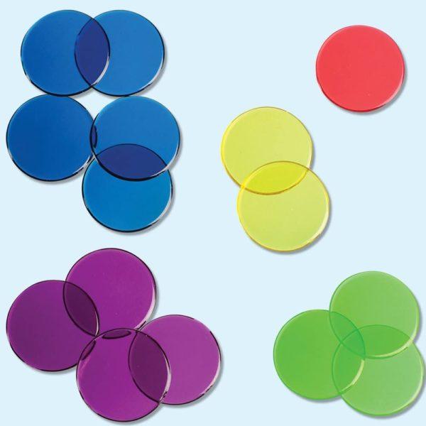 Jetoane pentru numărat și sortat - Joc educativ - Learning Resources 3