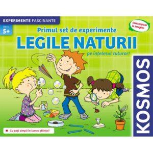 Legile Naturii - Set de experimente - Joc educativ. Kosmos prin Didactopia